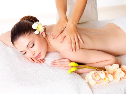 Aromaöl Massage