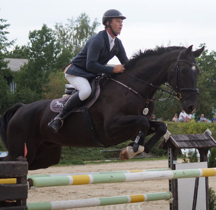 Hendrik Holländer gewann in Pietzpuhl zwei Prüfungen. Foto: Alpha-Report