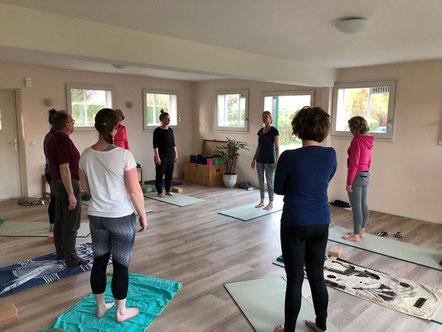 Yogales in de yogastudio van Yoga Beat