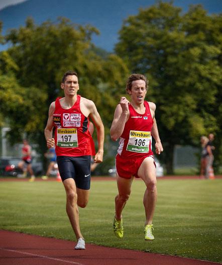 Andi Vojta (Gold über 1500m) und Brenton Rowe (Gold über 5000m, Silber über 1500m) erfüllten als Medaillenbänke des team2012.at die Erwartungen - und machten es dabei spannend!