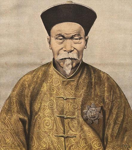 26 juillet 1896. Li Hung-chang. Le Petit Journal, Supplément illustré, et la Chine  1890-1913, 1921-1931.