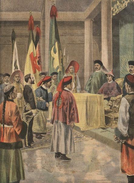 20 janvier 1895. Le Petit Journal, Supplément illustré, et la Chine  1890-1913, 1921-1931.