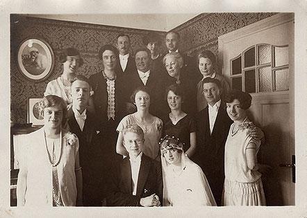 Familienfoto 1927. Copyright: bonnescape.de