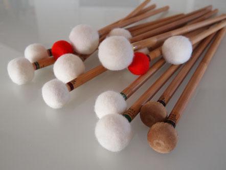 Paukenschlägel von Expression Percussion auf www.paukenschlaegel.com
