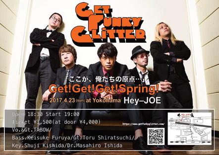 Get Funky Glitter LIVE  横浜Hey-JOE