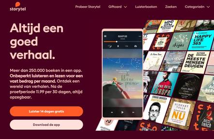 Luisterboek Storytel