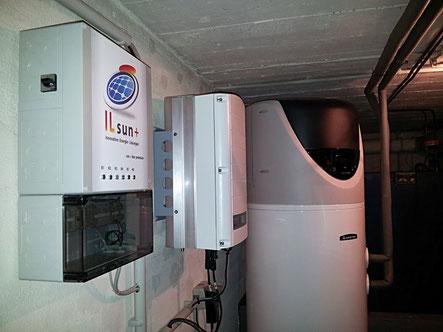 sun+ box kombiniert mit SolarEdge-PV-Anlage und Brauchwasserwärmepumpe: Ein optimales Team!