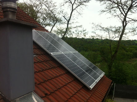 1,32 kWp Micro PV-Anlage