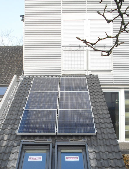 1,5 kWp Micro PV-Anlage