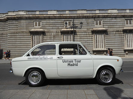 seat 850 tour madrid