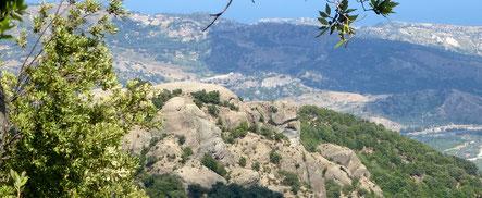 Aspromonte Nationalpark Ausflug