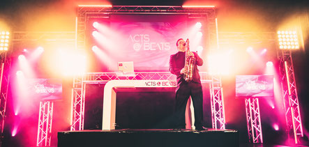 DJ Saxophone live, Live saxophone mit DJ, DJ plus Saxophon