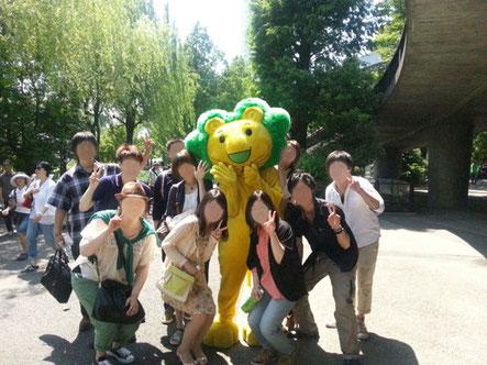 社会人サークルISTコミュニティ上野動物園イベント