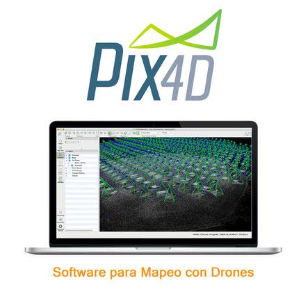 Pix4D Mapper es un software que le ayuda a generar mapas, medir áreas, volúmenes, nubes de puntos y modelos 3D a través de imágenes