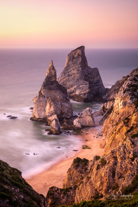 Portugal / Praia da Ursa, Sintra, Langzeitbelichtung, 2019, © Silly Photography