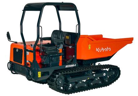 Transporteur sur chenilles Kubota KC250HR.4