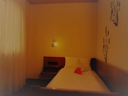 Einzelzimmer im Landgasthof Bieger in Franken