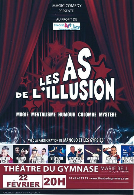 Les as de l'illusion 22 Fevrier