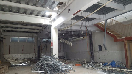 松伏町,店舗,テナント,内装解体,原状回復