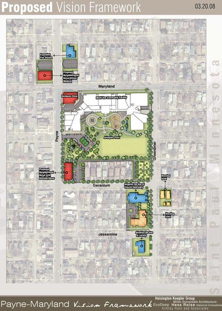 Neighborhood Development Plan for Payne Maryland Neighborhood, St Paul