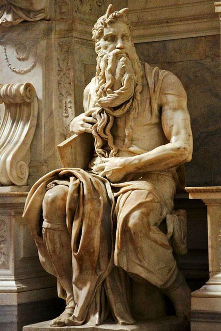 Самые известные работы Микеланджело - Моисей