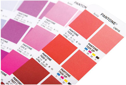 Fig. 2 Color Pantone vs Simulación CMYK