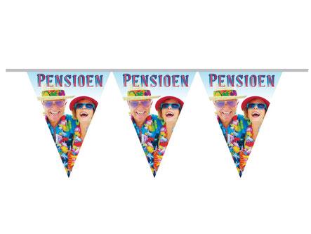 Vlaggenlijn pensioen 10m € 2,50 NIET OP VOORRAAD