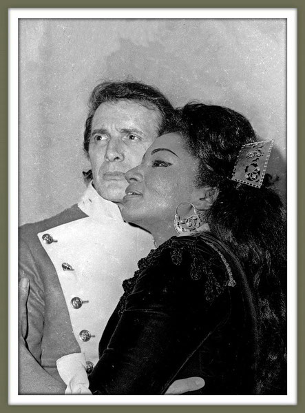 Don José - CARMEN - di G. Bizet - con G. Bumbry - (Macerata 1974)