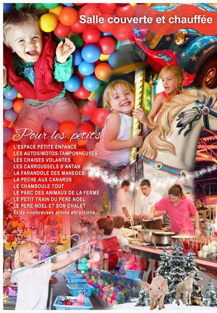 Fête Foire Manège Bonbons feteforainedenoel 2018