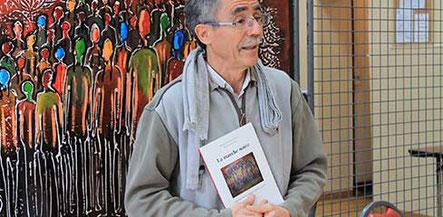 L'ingénieur auteur Mohammed Cherfaoui au Salon du Livre au Forum de la Différence à Crépy-en-Valois 2017