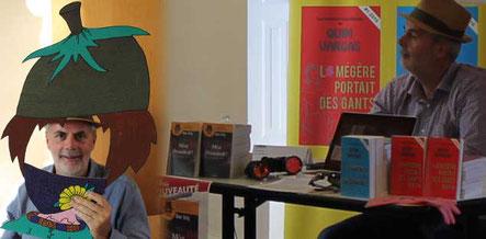 L'auteur Olivier Bardy au Salon du Livre du Cultura de Saint Doulchard 2017 au Domaine de Varye