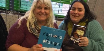 L'auteur Corinne Gatel-Chol et l'illustratrice auteur Cloé Perrotin au Printemps du Livre 2018 de Lamotte-Beuvron