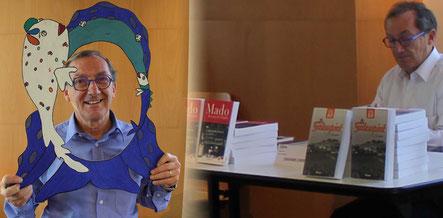 Le romancier Chérif Zananiri au Salon du Livre du Cultura de Saint Doulchard 2017 au Domaine de Varye