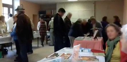 La salle du 20ème Salon du Livre de Saint-André-en-Morvan en 2017