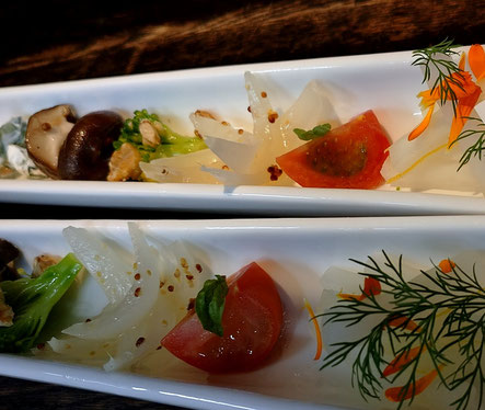 箱根西麓三島野菜のクルディテ