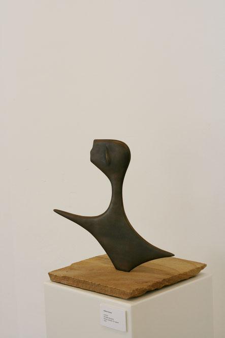 Im Wind / für Walter Benjamin / Bronzefassung / Foto HF