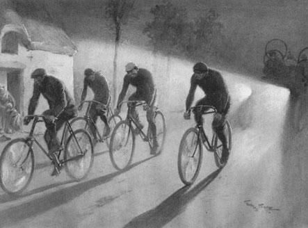 Photo: Paul de Vivie (1853-1930) alias Vélocio