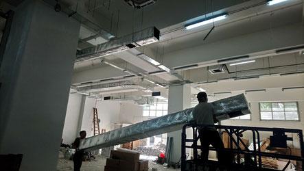 興建本地啤酒廠工程, 食品工場出牌 air duct HK