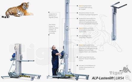ALP-Lastenlift LMS4