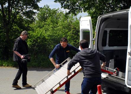 Der ASB wird am Sommerfest der Naturfreunde kostenfrei ein Transportfahrzeug für Menschen mit mobiler Einschränkung zur Verfügung stellen. Für das Fest am  13. August wird ebenfalls ein Werbetrailer gedreht