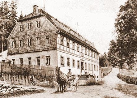 Bild: Teichler Wünschendorf Erzgebirge Alte Bornwaldschänke