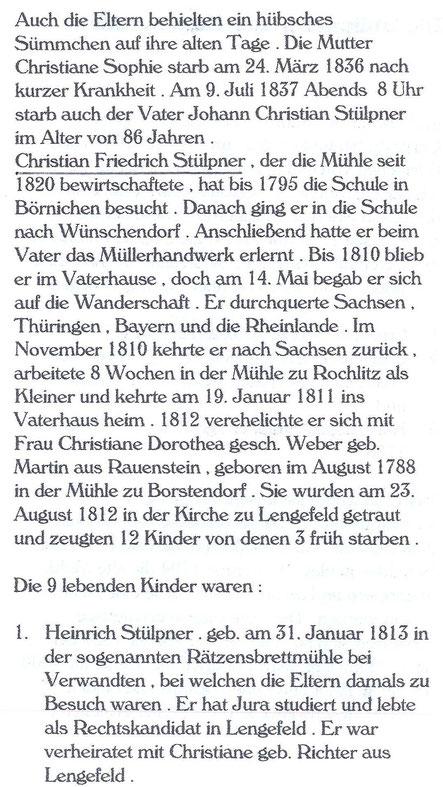 Bild: Wünschendorf Stülpner Hammermühle Neunzehnhain