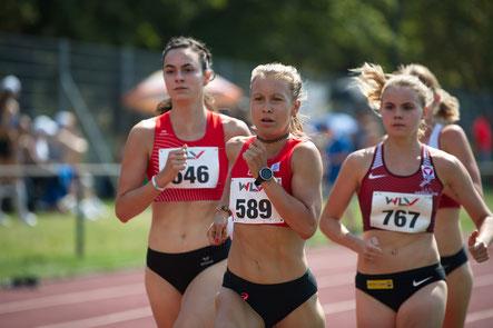 Julia Mayer Dsg wien laufen Landesmeisterin 1500m Millonig Lena julia