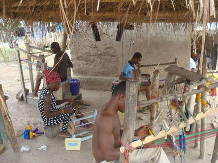 Kente Weaving Village