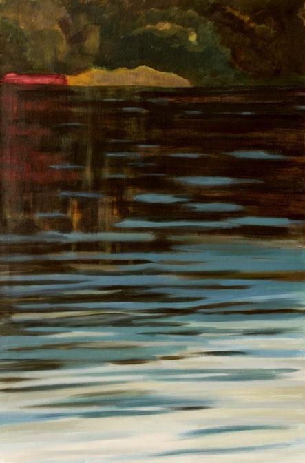 Ohne Titel, 2016 Acryl auf Leinwand 120x80
