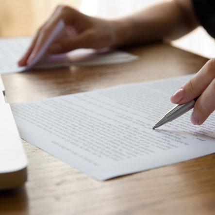 Übersetzen, Lektorat, Korrekturlesen, Copywriting