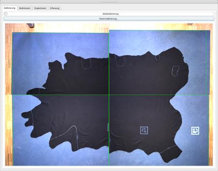 RG Technologies PEAKTOURe produce Kalibrierung der Sensorik