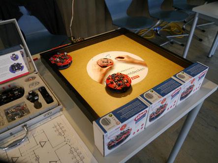 Roboterbausätze auf der LeLa Jahrestagung