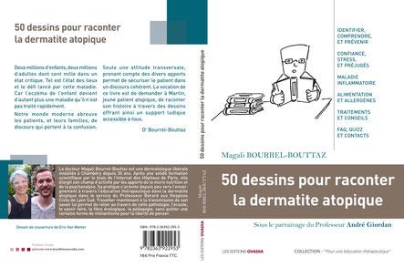 Photo du livre : 50 dessins pour raconter la dermatite atopique