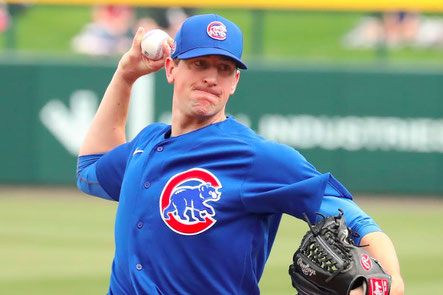 Nella foto Kyle Hendricks (John Antonoff/For the Sun-Times)